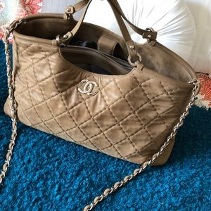 955c3189c6fb19 CHANEL Bags | Sea Hit Tote With Silver Hardware | Poshmark
